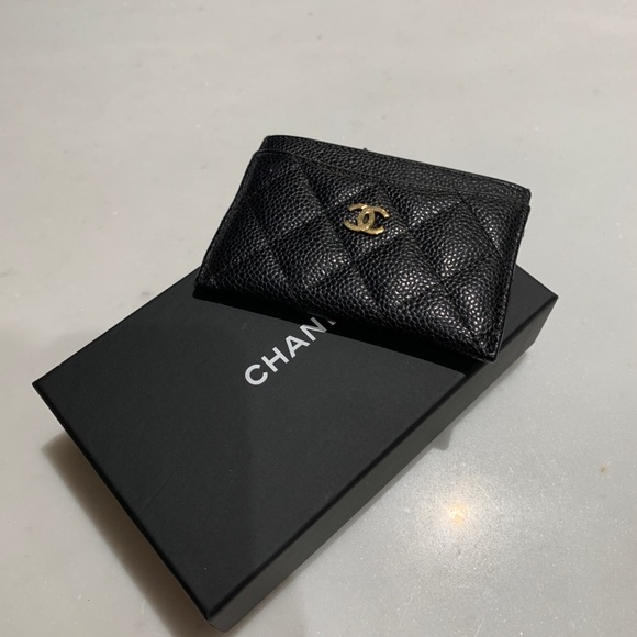 55118c375f6d CHANEL Accessories | Card Holder | Poshmark
